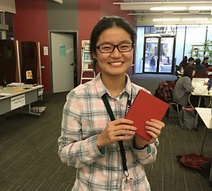 Zine Library Workshop: Hardcover Bookbinding, Iris Ho
