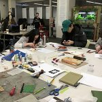 Zine Library Workshop: Linocut, February 14, 2017