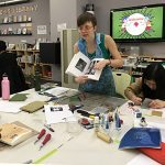 Zine Library Workshop: Linocut w/Marta Chudolinska, February 14, 2017