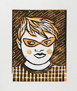 Zine Library Workshop: Linocut: Marta Chudolinska 2017