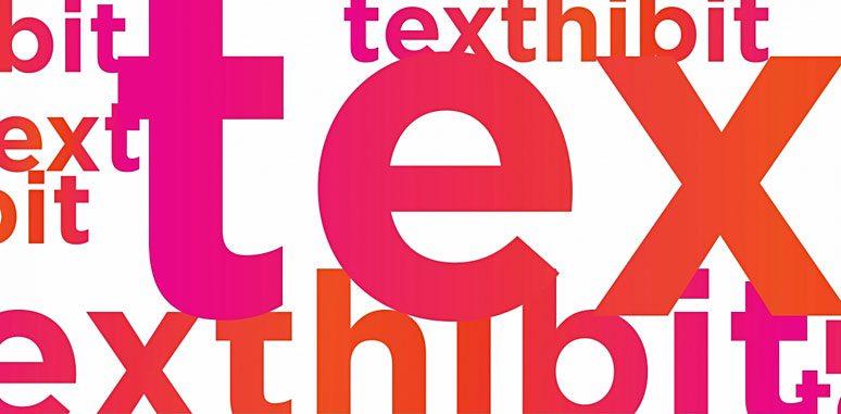 TEXThibit logo, 2017