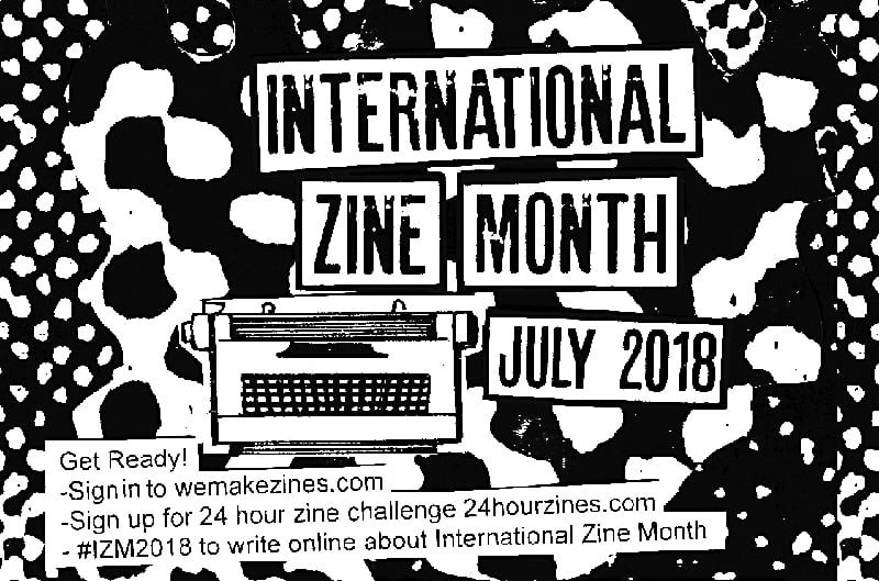 International Zine Month