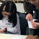 Hardbook binding workshop 2020 Marta