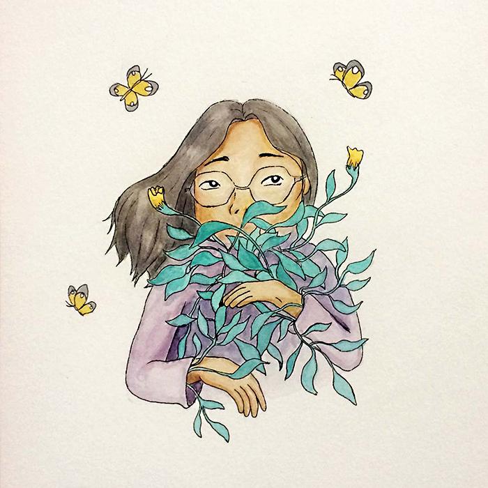 Portrait, Ivy Chen