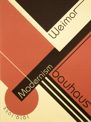 The above is an example of Modernist Graphic Design: It's simple ...