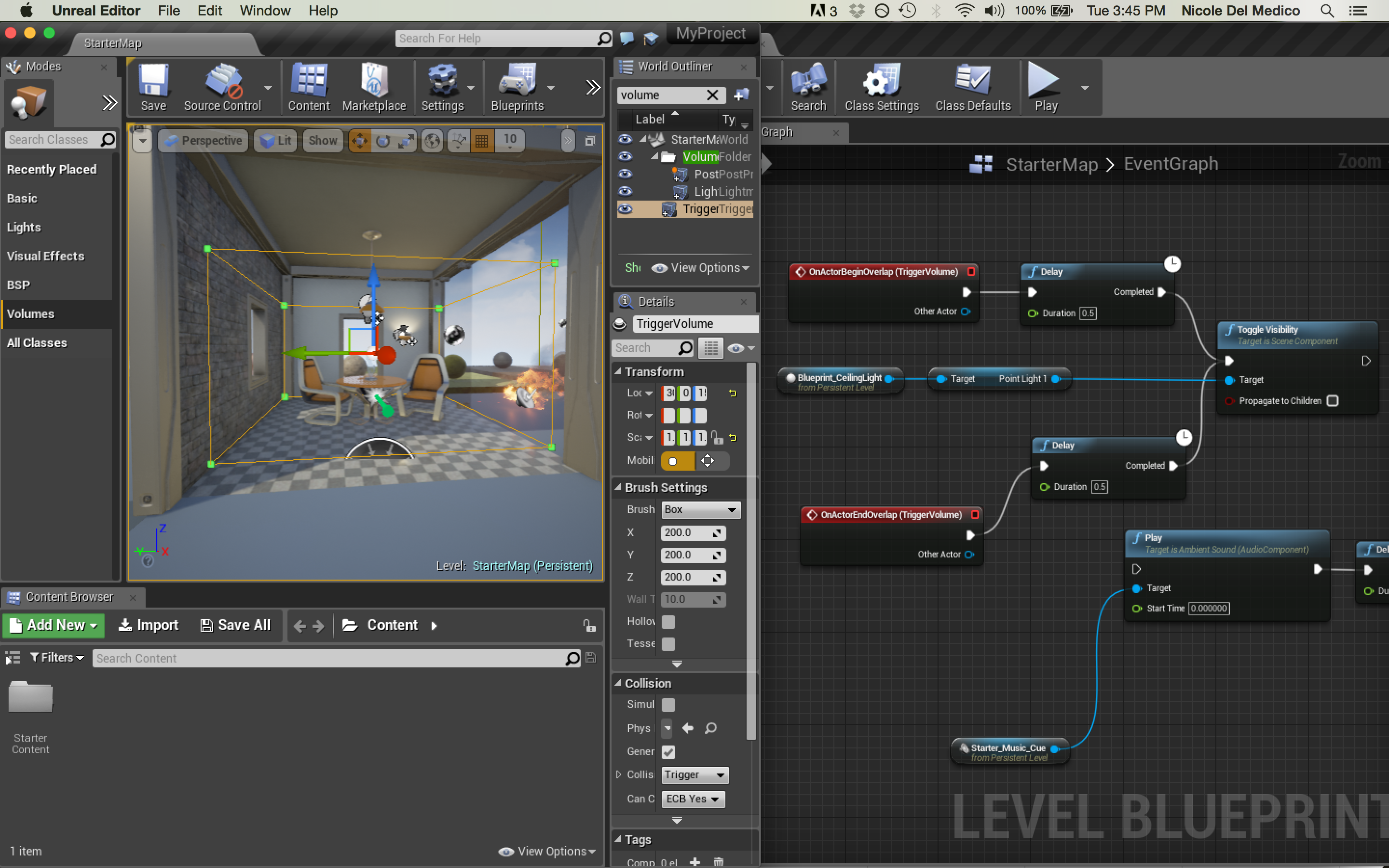 Ue4 blueprint tutorials level blueprints nicole del medicos screen shot 2015 10 06 at 34515 pm malvernweather Choice Image