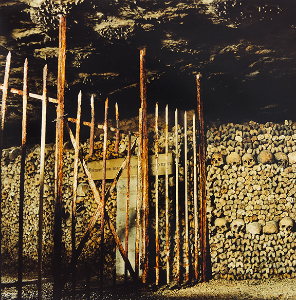 "Hugh Martin, ""Catacombs #2, Paris"", 2004"