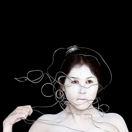 Meryl McMaster, Meryl 2, 2010. Digital chromogenic print, 36 x 36 in.