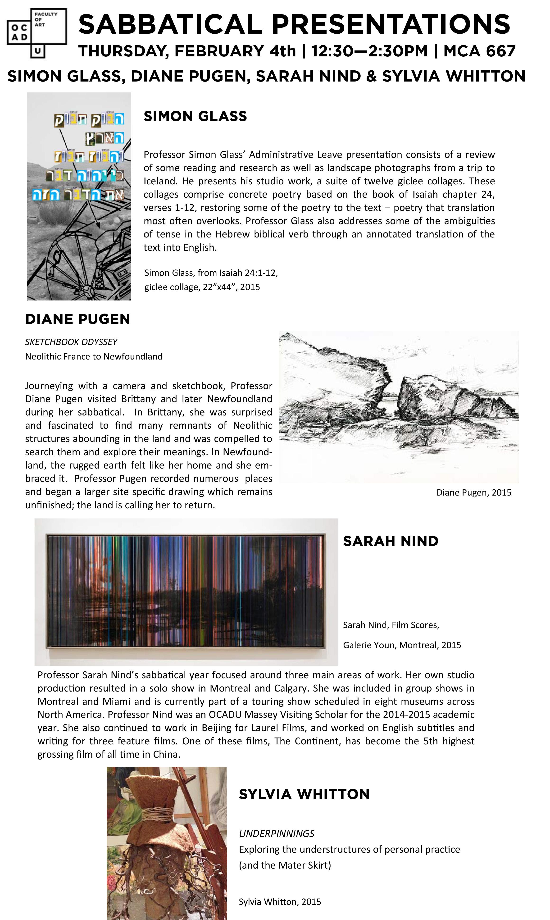 sabbatical presentations 2015-16 - poster.pub