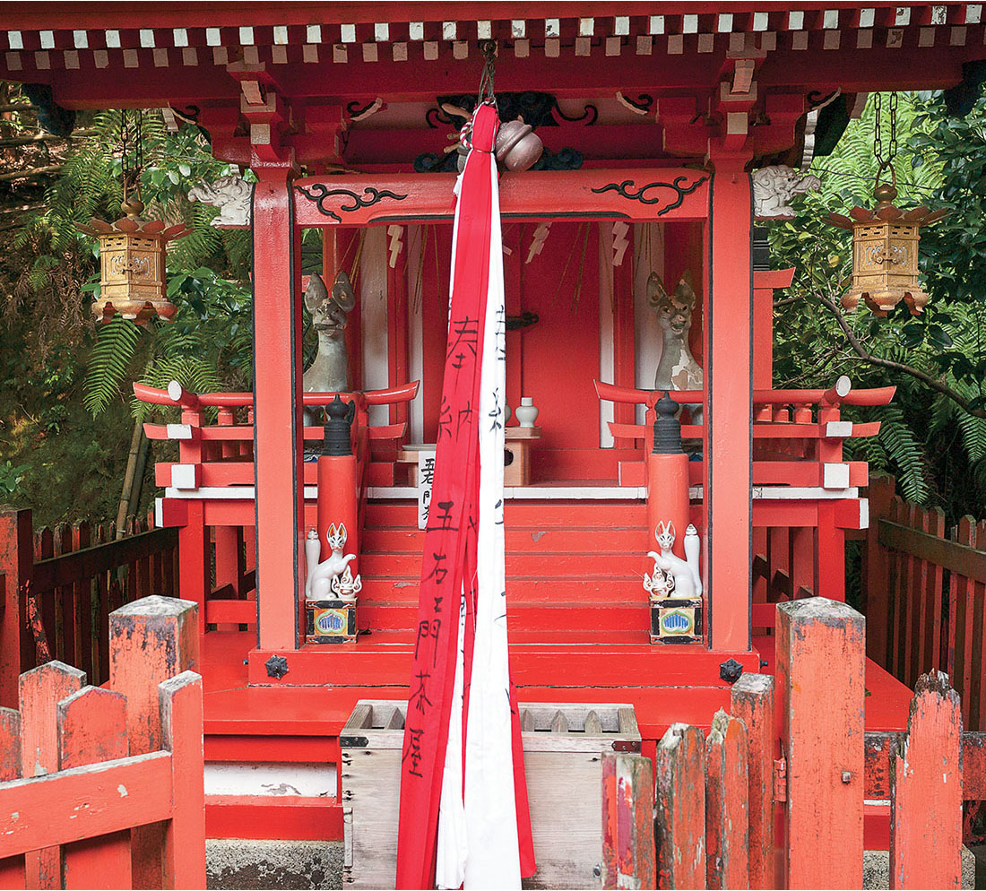 "Peter Sramek, Inari Shrine, Otoyo-jinja, Kyoto, Archival pigment print, edition 2 of 5 2015, 30"" x 34"" Courtesy of the artist. Estimate: $1,500"