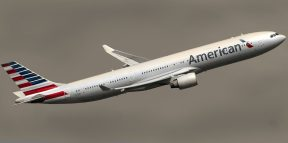 American Airline using Helvetica in their company logo