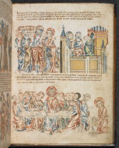 The Holkham Bible Picture Book, England, c. 1327-1335: Add MS 47682, f. 28r