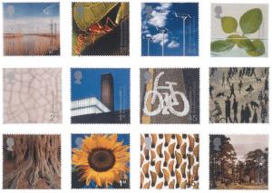 david-hillman-millenium-stamps