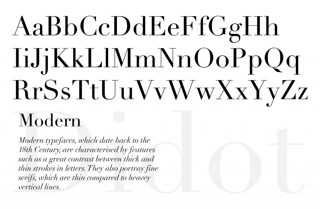 Modern Type: Didot, produced by Jessica Choe