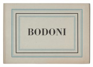 """Bodoni Schriftmuster"" by Peter Glaab is licensed under CC BY-ND 2.0"