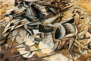 boccioni-charge-of-the-lancers