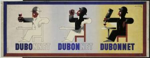 Dubo Dubon Dubonnet,1932, by A.M. Cassandre
