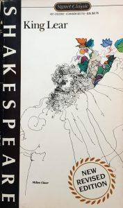 Milton Glaser, King Lear for Signet, 1963