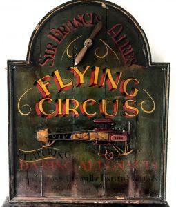Vintage circus signage ca. 1920.