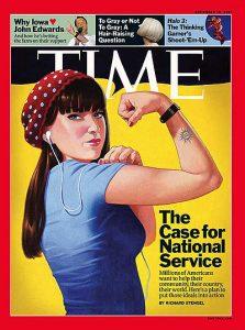 Eric Bowman, Time Magazine Cover, September 10, 2007