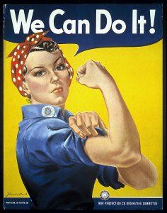"J. Howard Miller, ""We Can Do It!"",1942, Poster"