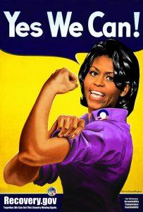 Michelle Obama Rosie the Riveter (2009)