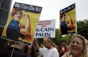 Sarah Palin Rosie the Riveter (2008)