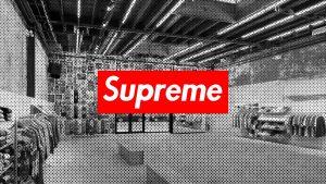 "Supreme ""Supreme Box Logo"" 1994."