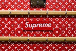 """""""Supreme x Louis Vuitton"""" trunk ($68,500)."""