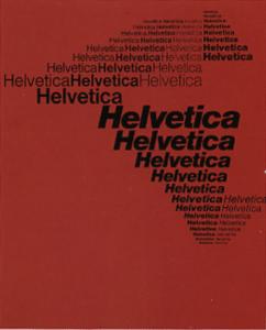 Eduard Hoffmann and Max Meidinger, Helvetica Typeface, 1960.