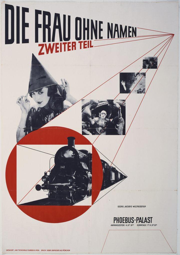 Jan Tschichold, Die Frau ohne Namen, Zweiter Teil, 1927