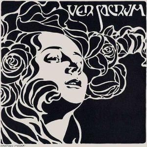 Cover design for Ver Sacrum, (1899)