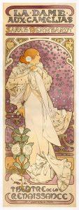 Alphonse Mucha, La Dame aux Camélias, 1896