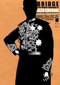 Bridge | 2007  Visual Language of Reza Abedini 100 X 70 cm