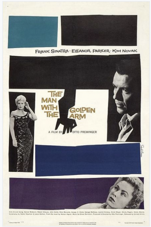 Saul Bass, The Man With The Golden Arm 1955
