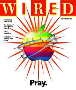 The cover of the June, 1997 edition of Wired