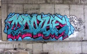 Wildstyle. Anonymous artist.