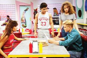 Set from Saved by the Bell. Photo from https://www.thecut.com/2017/05/the-memphis-design-movement-is-having-a-moment.html