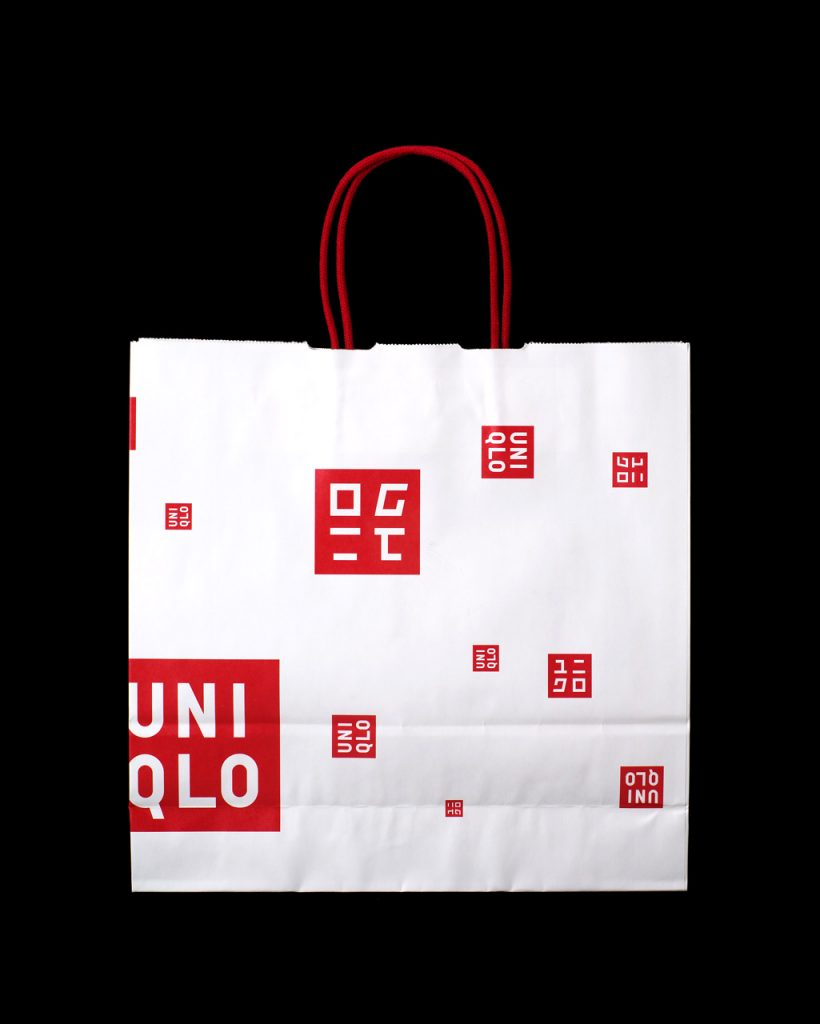 UNIQLO Shopping Bag Sample