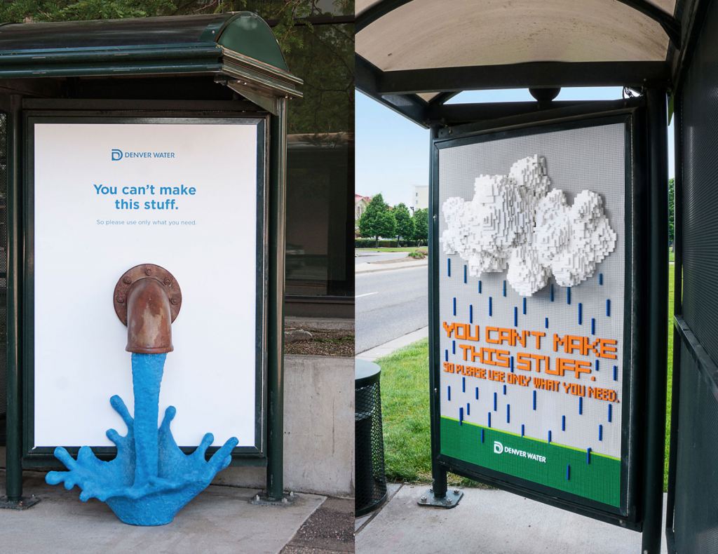 "Denver Water's ""Use Only What You Need"" campaign 2015"