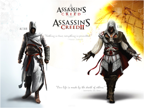 Ezio S Costume Design Assassin S Creed 2 Introduction To Game