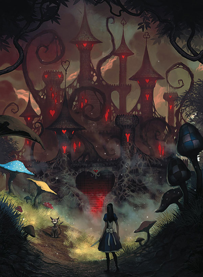 The Art Of Alice Madness Return Introduction To Game Studies