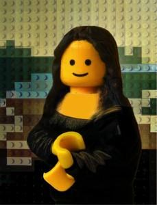 LegoMonaLisa