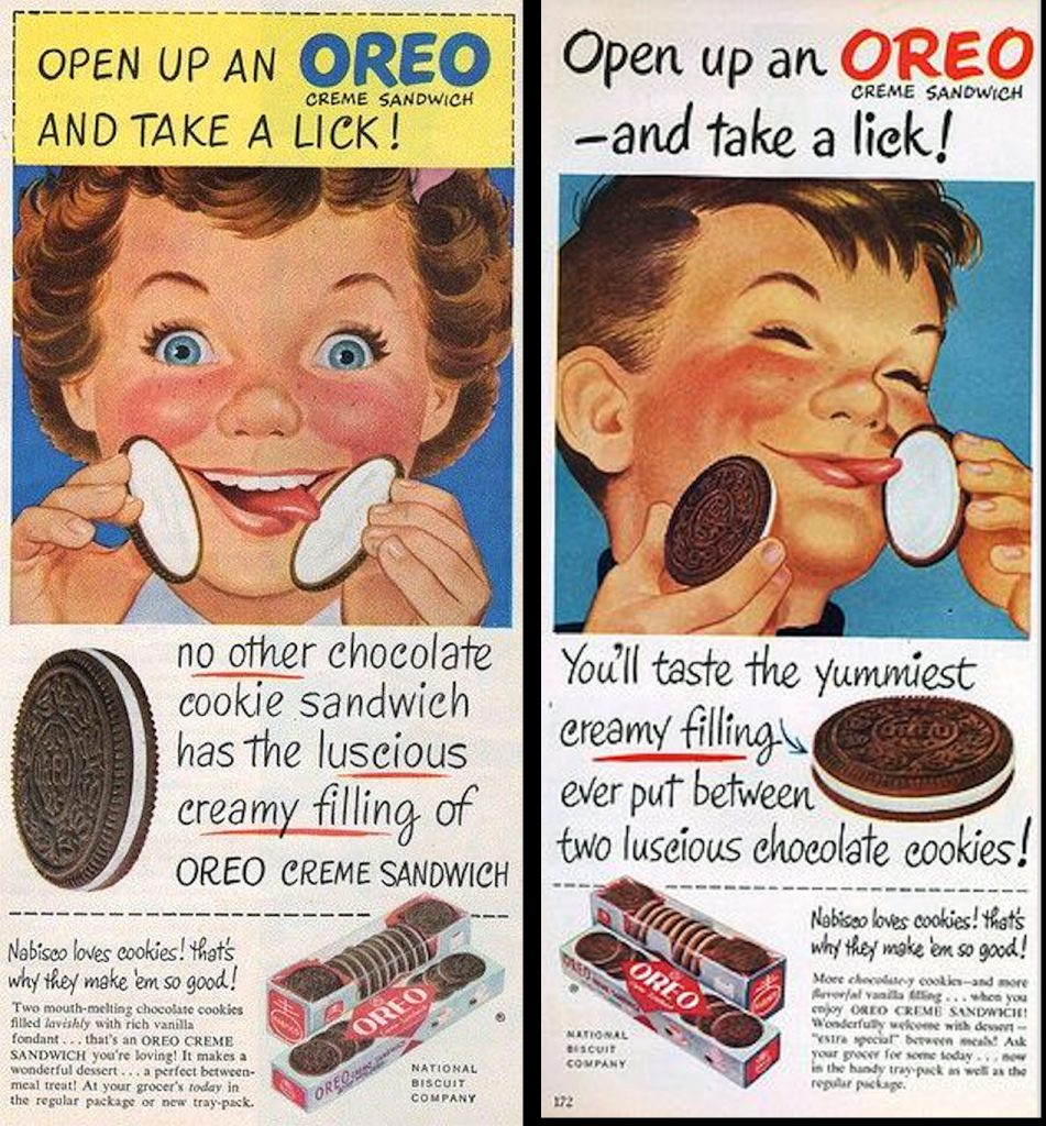 1950, Oreo Ad Poster