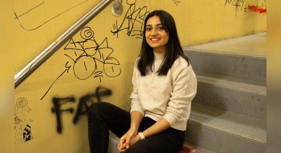Second-year Inclusive Design student Amna Azhar