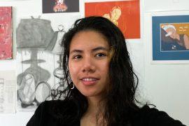 First-year Illustration student Diane Galapon