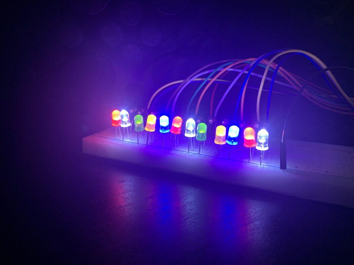 4.3 Crafting Electronics Swatchbook: LED Lane