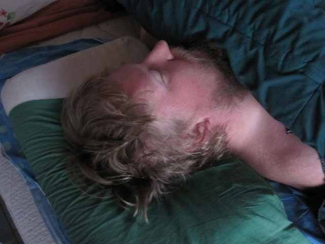 Man Was Sleeping