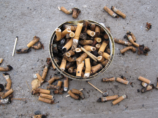Smoked Cigarettes