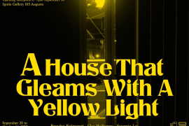 Promo image A House That Gleam with a yellow light